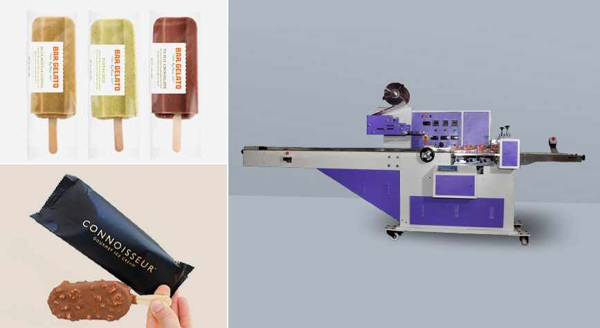 Ice Cream Stick Packing Machine Manufacturer Excel Packs